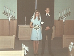 Art and Carol Nov. 1, 1969
